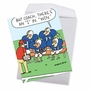 Hysterical Thank You Jumbo Greeting Card By Hilary Price From NobleWorksCards.com - Team Talk image 2