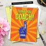 Hilarious Thank You Jumbo Greeting Card from NobleWorksCards.com - Thank You Coach From All image 6