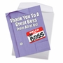 Hilarious Boss Thank You Jumbo Printed Card From NobleWorksCards.com - Thank You to a Great Boss image 2