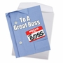 Creative Boss's Day Jumbo Greeting Card From NobleWorksCards.com - Thank You to a Great Boss image 3