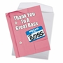 Stylish Boss's Day Jumbo Card From NobleWorksCards.com - Thank You to a Great Boss image 3