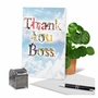 Stylish Boss Thank You Paper Card From NobleWorksCards.com - Thanks A Bunch image 6