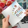 Creative Boss's Day Greeting Card From NobleWorksCards.com - Thanks A Bunch image 3