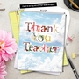 Creative Teacher Thank You Jumbo Greeting Card By NobleWorks Inc From NobleWorksCards.com - Thanks A Bunch image 6