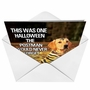 Humorous Halloween Printed Card from NobleWorksCards.com - Tiger Mom image 2