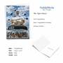 Stylish Graduation Paper Card From NobleWorksCards.com - Tigers Mascot - 2020 image 2