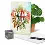 Artistic Thank You Printed Greeting Card From NobleWorksCards.com - Timely Thanks image 5