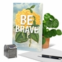 Creative Friendship Greeting Card From NobleWorksCards.com - Timely Thoughts - Be Brave image 6