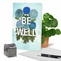 Stylish Friendship Paper Card From NobleWorksCards.com - Timely Thoughts - Be Well image 6
