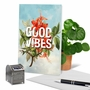 Stylish Friendship Card From NobleWorksCards.com - Timely Thoughts - Good Vibes image 6