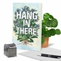 Stylish Friendship Paper Card From NobleWorksCards.com - Timely Thoughts - Hang In There image 6