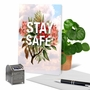 Creative Friendship Greeting Card From NobleWorksCards.com - Timely Thoughts - Stay Safe image 6