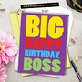 Hysterical Birthday Jumbo Printed Card From NobleWorksCards.com - To The Boss image 5
