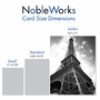Creative Thank You Jumbo Printed Card From NobleWorksCards.com - Towering Paris image 4