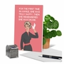 Humorous Birthday Paper Greeting Card By Bluntcard From NobleWorksCards.com - Truly Happy image 6