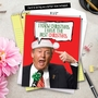 Hilarious Christmas Jumbo Greeting Card from NobleWorksCards.com - Trump Best Christmas image 6