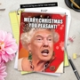 Hysterical Christmas Jumbo Paper Greeting Card from NobleWorksCards.com - Trump Christmas Peasant image 6