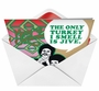 Hilarious Christmas Greeting Card from NobleWorksCards.com - Turkey Jive image 2