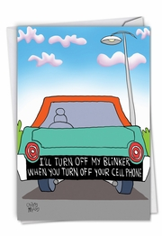 Turn Off Blinker Card