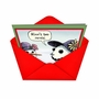 Hilarious Christmas Paper Card by Dan Piraro from NobleWorksCards.com - Two Carats image 2