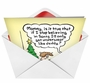 Hysterical Christmas Paper Card by Randall McIlwaine from NobleWorksCards.com - Underwear Believe in Santa image 2