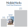 Creative Birthday Printed Greeting Card From NobleWorksCards.com - Uno Mundo image 4