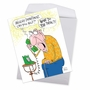 Humorous Birthday Jumbo Paper Greeting Card By Gary McCoy From NobleWorksCards.com - Urology Department image 3