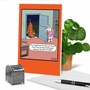 Funny Halloween Paper Greeting Card By Tim Whyatt From NobleWorksCards.com - Vacuum Dog image 6