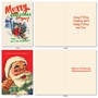 Humorous Merry Christmas Card By Offensive+Delightful From NobleWorksCards.com - Very Merry O+D image 2