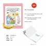 Funny Birthday Jumbo Paper Card By Martin J. Bucella From NobleWorksCards.com - Virtual Reality image 2