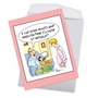 Funny Birthday Jumbo Paper Card By Martin J. Bucella From NobleWorksCards.com - Virtual Reality image 3