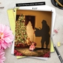 Stylish Christmas Thank You Jumbo Paper Card from NobleWorksCards.com - Visions of Christmas image 6