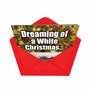 Humorous Christmas Printed Greeting Card from NobleWorksCards.com - White Christmas image 2
