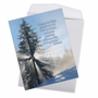 Stylish Get Well Jumbo Paper Greeting Card From NobleWorksCards.com - Winter Sunrise - Isaiah 58:8 image 2