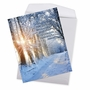 Creative Congratulations Jumbo Printed Card From NobleWorksCards.com - Winter Sunrise - Isaiah 60:1 image 2