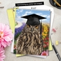 Funny Graduation Thank You Jumbo Paper Greeting Card from NobleWorksCards.com - Wise Old Owl image 6
