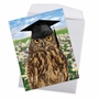 Humorous Graduation Jumbo Paper Greeting Card From NobleWorksCards.com - Wise Old Owl image 2