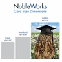 Humorous Graduation Jumbo Paper Greeting Card From NobleWorksCards.com - Wise Old Owl image 4