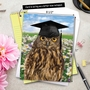 Humorous Graduation Jumbo Paper Greeting Card From NobleWorksCards.com - Wise Old Owl image 6