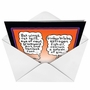 Funny Halloween Printed Greeting Card by Randall McIlwaine from NobleWorksCards.com - Witch Brew image 2