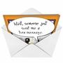 Funny Halloween Paper Greeting Card by Martin Bucella from NobleWorksCards.com - Witch Hex Message image 2