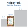 Creative Thank You Printed Greeting Card By Debbie Tomassi From NobleWorksCards.com - Words for Friends image 5