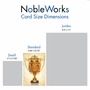 Humorous Thank You Paper Card From NobleWorksCards.com - World's Best Coach image 5