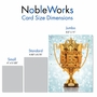 Humorous Thank You Jumbo Paper Card From NobleWorksCards.com - World's Best Coach image 5