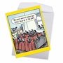 Hilarious Get Well Jumbo Greeting Card By Dan Piraro From NobleWorksCards.com - Worried Pigeons image 2