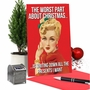 Hilarious Merry Christmas Printed Greeting Card From NobleWorksCards.com - Worst Part image 5