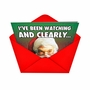 Humorous Christmas Printed Greeting Card from NobleWorksCards.com - You Are Nutty image 2