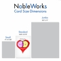 Funny Valentine's Day Paper Card From NobleWorksCards.com - You Me Chart image 5