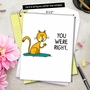 Hysterical Mother's Day Jumbo Greeting Card by Scott Nickel from NobleWorksCards.com - You Were Right image 6