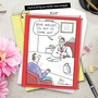 Funny Get Well Jumbo Paper Card by Leo Cullum from NobleWorksCards.com - Your Wallet image 6
